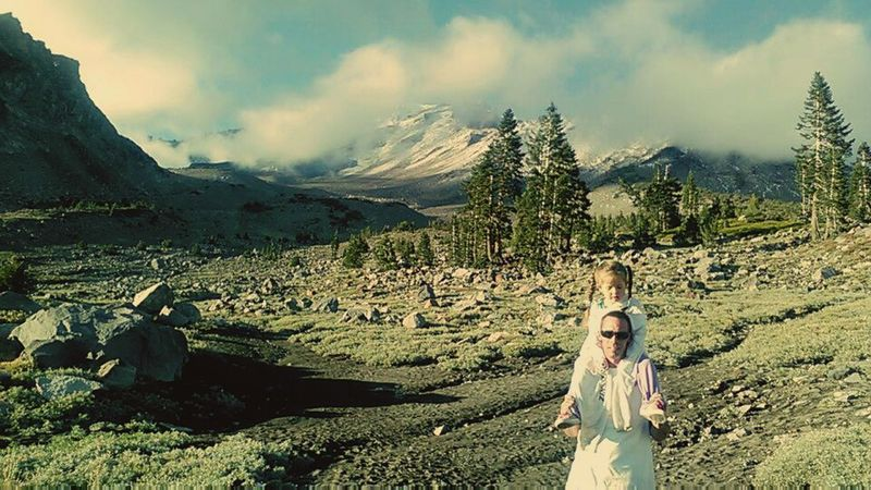 Love ♥ Enjoying Life Check This Out Hanging Out Taking Photos Special Memories Me And My Little Girl:) Summer Views Beautiful Day Mt Shasta
