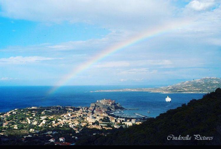 Rainbow Sky Merveille Calvi Corsica