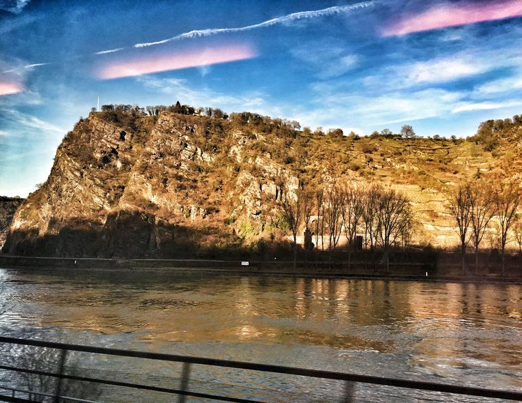 Rhine River Germany , Beautiful Nature Nature History, nature EyeEm Gallery ancient water Mountain Range Famous Place Traveling By Train No People Journey Outdoors Eye4photography  Nature_collection Rhein By The River