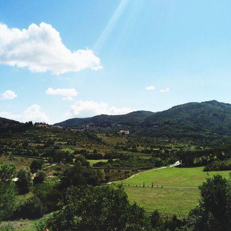 Landscape] landscape Mountains Toscane,