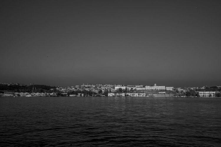 Istanbul - Bosphorus Istanbul Bosphorus Istanbul City Black & White Urban Landscape Cityscape