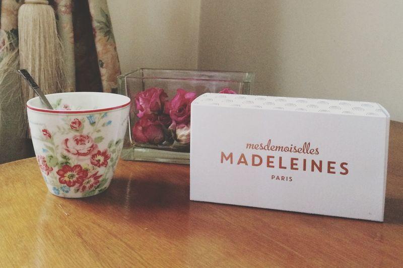 Madeleines MesdemoisellesMadeleines Tea Time TeaCup Flowers Roses