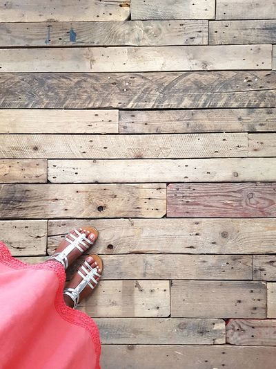 Photooftheday From My Point Of View Fromwhereistand Shoes Looking Down Sandal Summer Beautiful Red Foot Low Section Human Hand Wood - Material Directly Above High Angle View Playing Hardwood Floor Close-up Wood Paneling Wooden Floor Boardwalk Wooden Nail