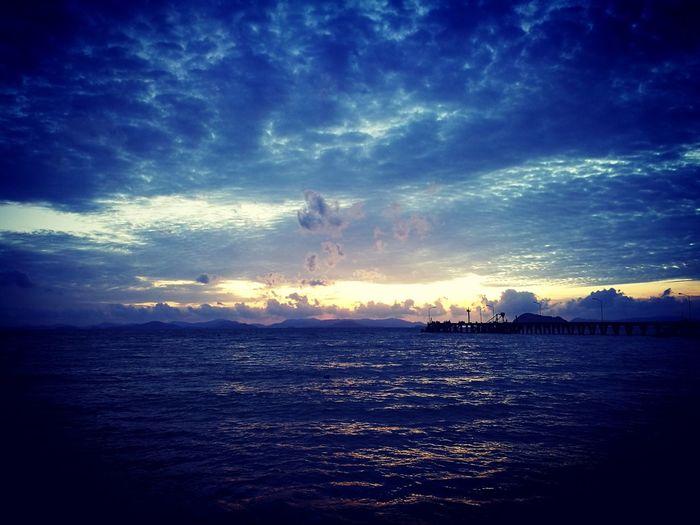 Sunset Enjoying The Sights Enjoying Life Relaxing Koh Yao Yai No People Calm