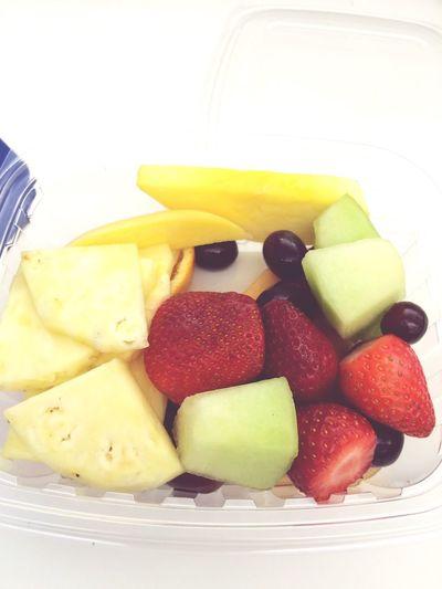 Fresh Fruit Yummmmm  Breakfast