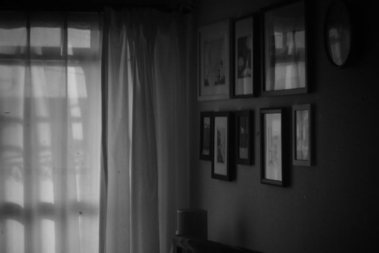 Black And White Holgalens Window Architecture Room