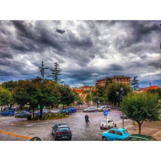 Piazza Eboli. Eboli LG G3 LG  Lgitalia Lucidistortephoto hdr hdr_ita live piazza sky fiat500 fiat lg Instagram bestmoment lucidistortephoto365 g3