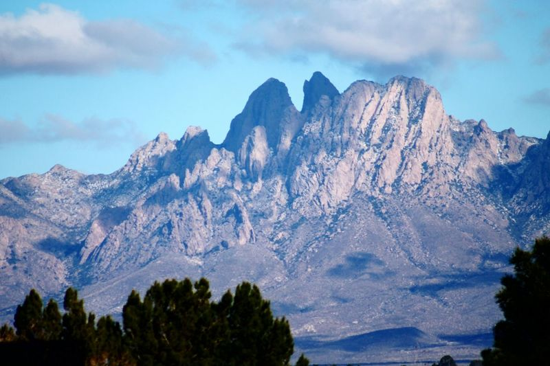 Organ Mountains Mountains Las Cruces Natural Beauty Desert Beauty Desertlandscape Mountain_collection Mountains And Sky Newmexico Deserts Around The World