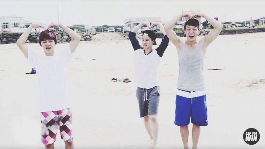 "the 3 bros :"") Team B Yg Family"