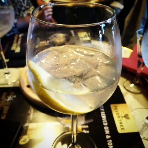 let the gin tasting begin! glass no. 1. Bombay Bombaysapphire GIN Gintasting ginlover gintonic indiantonic fevertree