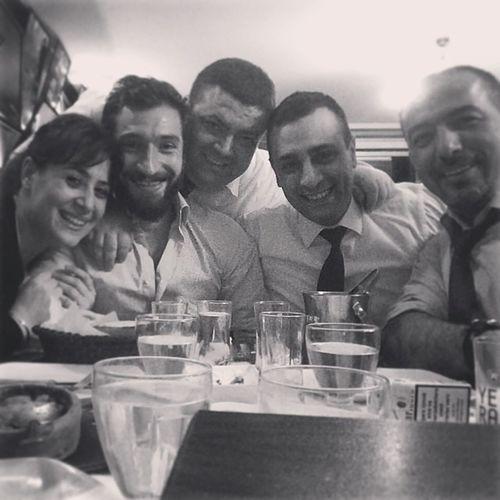 Selfie Dostlar Rakı Balık @gokhankuru07 - with Muhsin, Bugra, Banu
