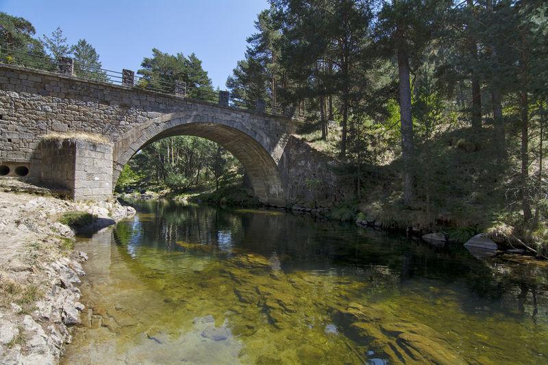 Puente Del Duque Sierra De Gredos Beauty In Nature Built Structure Nature River Travel Destinations Water