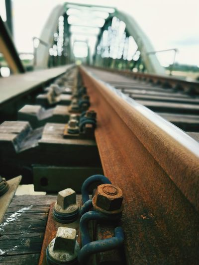 Railway Rail Rail Transportation EyeEm Selects Close-up Metal Industry Steel Worker Factory Industrial Building  Production Line Smoke Stack