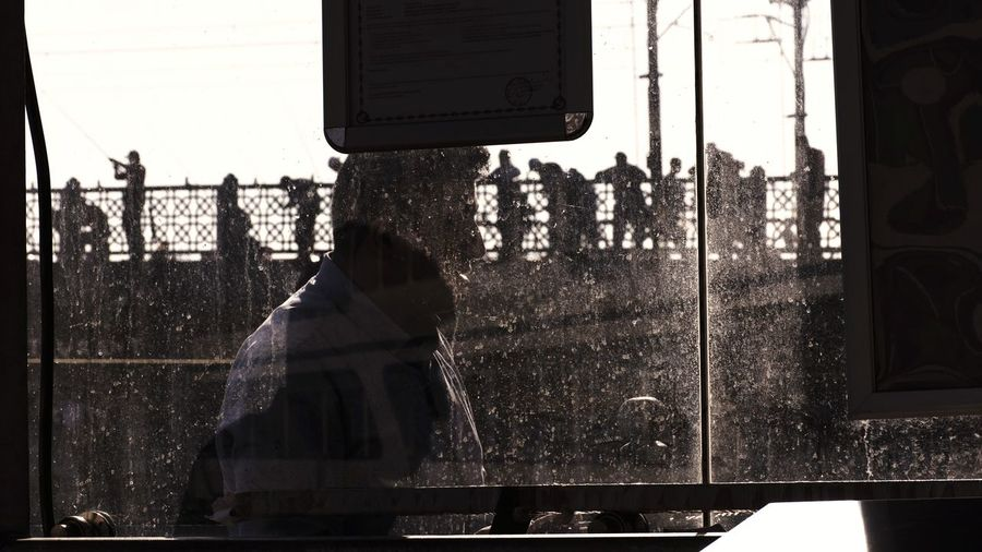 the head Streetphotography Street Photography Street EyeEm Silhouettes Reflection Urban Geometry Standing Blue Urban People Urbanphotography Mirror Galata Istanbul Silhouette High Street Street Scene