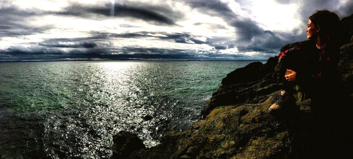 Elie, Fife EyeEmNewHere Scotland Scotlandsbeauty Chain Walk ELIE Water Sea Cloud - Sky Sky Beauty In Nature Looking At View Rock Scenics - Nature EyeEmNewHere