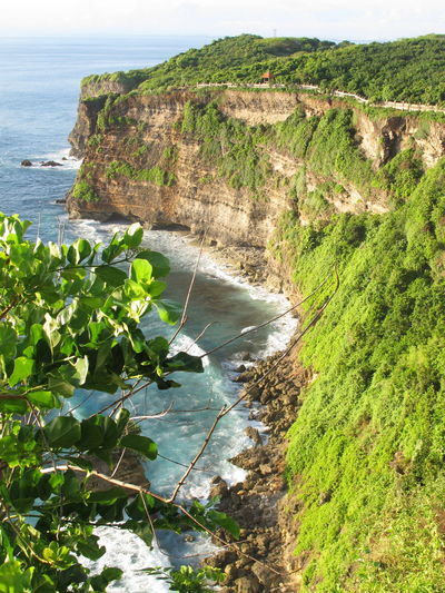 Acantilado en Uluwatu Uluwatu Uluwatu Bali NofilternoeditNofilter Nopeople Amazing View Holiday Traveling INDONESIA Bali Cliff Sea Green Acantilado EyeEm Nature Lover Nature Landscape Landscape_photography Landscapes The Great Outdoors - 2016 EyeEm Awards A Bird's Eye View