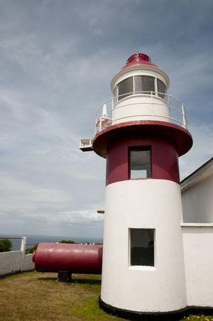 Corona Lighthouse - Chiloe Island - Chile Chile Corona Lighthouse Built Structure Chilöe Lighthouse