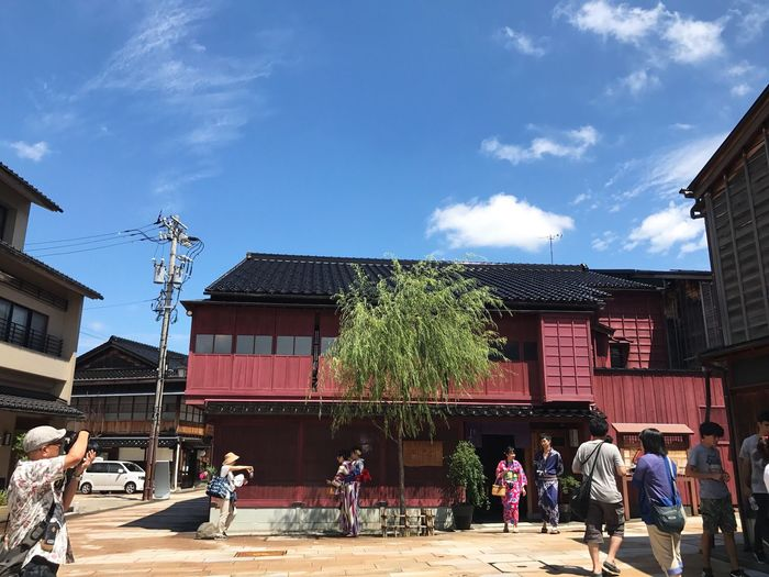 Real People Building Exterior Architecture Built Structure Sky Standing City People Cityscape Landscape Japan Photography Travel Photography Architecture Traveling Holiday House Trip