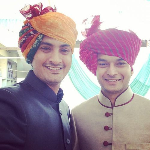 Royal Rajput Bro Menwithclass Selfie Smile Safa Jodhpuri Deeprajsinhzala Virendrasinhmahida Morbi Vibrantgujarat