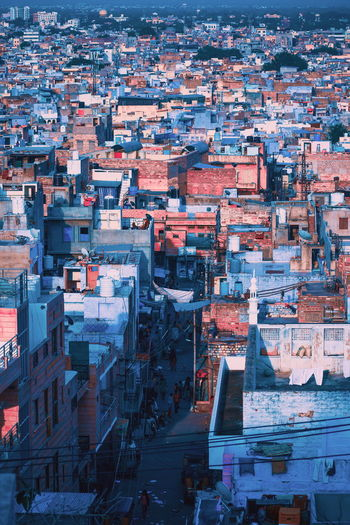 This is the view of blue city jodhpur, India. Full Frame City Cityscape Architecture Investing In Quality Of Life The Week On EyeEm Mix Yourself A Good Time Outdoors EyeEmNewHere Architecture Travel Vacations Built Structure