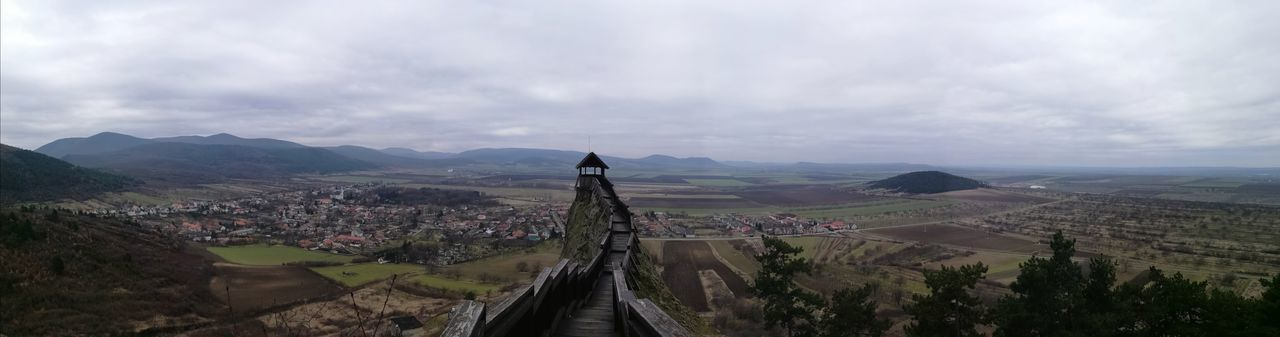 Perspective Hungary Boldogkőváralja Castle Zemplén Mountains Horizont  Fortress Fortress Wall Fortress View HuaweiP9 Huawei P9 Leica Mobilephotography Mobile Photography Colors Panoramic View Tranquility Tree Mountain Sky Landscape Cloud - Sky Architecture