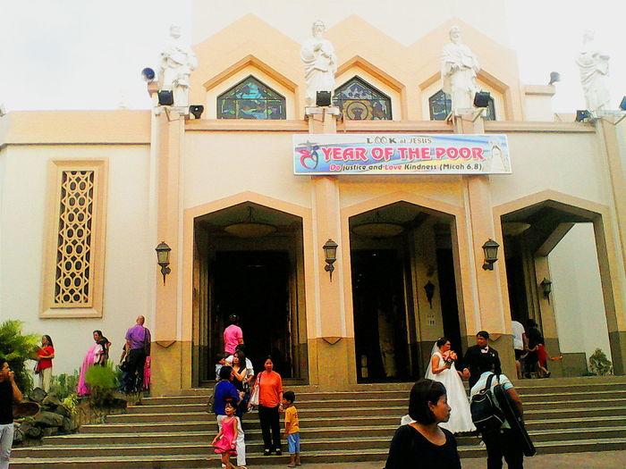 Church Catholic Church YearOfThePoor Newlyweds more fun in the Philippines! ❤❤