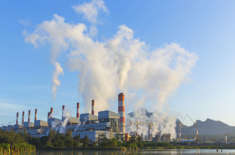 Coal Mine Air Pollution Architecture Building Exterior Built Structure Chimney Cooling Tower Day Ecosystem  Emitting Environment Environmental Damage Environmental Issues Factory Fuel And Power Generation Fumes Industry Nature No People Outdoors Pollution Sky Smoke Smoke - Physical Structure Smoke Stack
