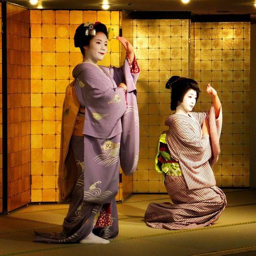 Geiko and Maiko. Geiko Geisha Maiko Apprentice Geisha