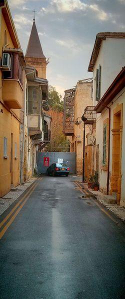 Nicosia, Cyprus Car Building Exterior EyeEmNewHere Border No Mans Land