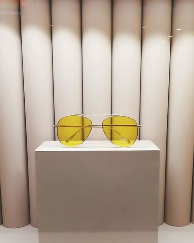 Eyeglasses  No People Day Close-up Mobile Photography Yellow Paint The Town Yellow Shades Sunnies