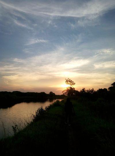 Nature of Surabaya - Sunset on Heroes City (04/24/16) Wrongtrack Yetwonderful First Eyeem Photo