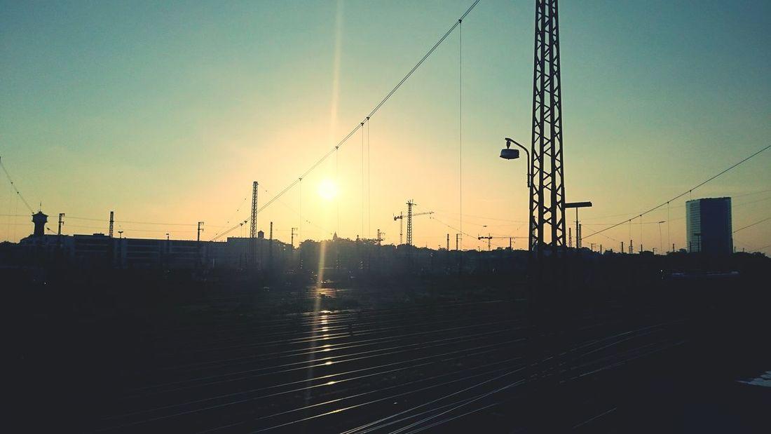 Charme von Mannheim /// Charming Industry Urban Sunset Railway