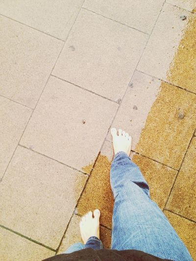 inspired by @spiegeleule!! Fromwhereiwalk Barefoot in the Rain . From Where I Stand