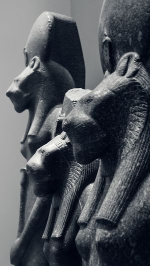 Black Panther family in Egypt? Panther Black Panther Blackandwhite Black And White EyeEm Gallery Check This Out Malephotographerofthemonth Museum British Museum Egyptian Statue Catwoman Animal Representation Blackandwhite Bnw Blackandwhite Photography Representing Sculpture Statue Ancient Civilization Human Representation Close-up Figurine  Sculpted Ancient Egyptian Culture Male Likeness
