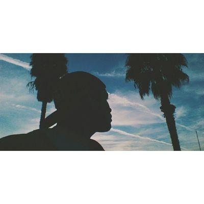ss. Palmtrees Selfie Selfiesunday SundayFunday BlueSkycloudsVscoVscoCamTheotherdayHaveAGoodDayPeace