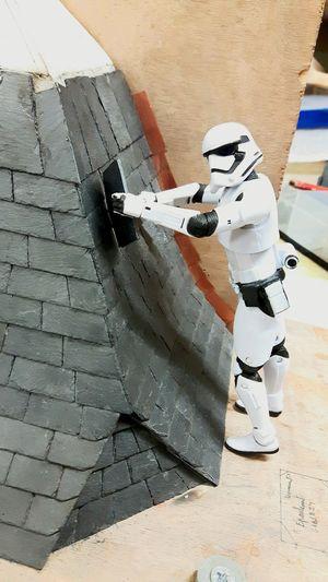 Stormtrooper Couverture Maquette Star Wars Figurine  Hello World Funny Work
