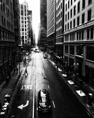 Scenes from the l CTA Train Streetphotography Blackandwhite Architecture Building Exterior Day Communication Outdoors City