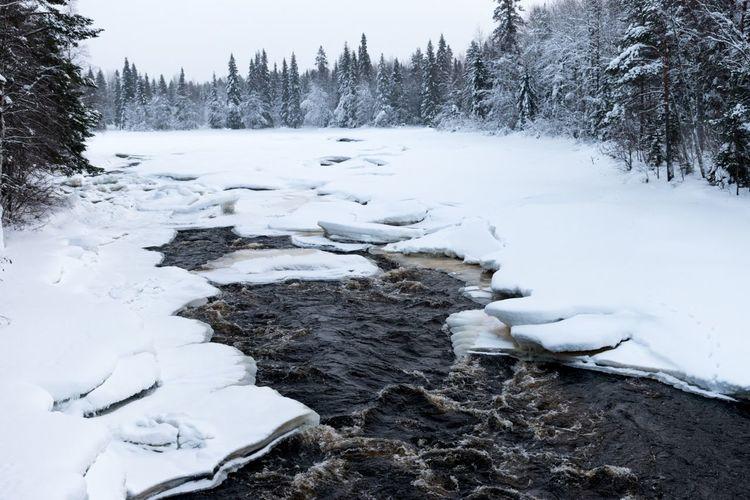 The Flow Rovaniemi, Finland Lapland, Finland Lapland Ice Nikon D5500 Nikon Snow Lake Water Frozen Lake Frozen Water Lake EyeEmNewHere