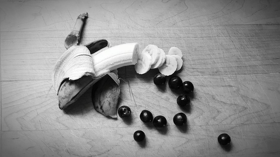 Taking Photos Blue Berries Perspective Photography Still Life Banana Fruitporn Food Photography Still Life Photography Feeling Creative From My Point Of View Fine Art Photography Unseen World Week Of Eyeem Overlooked Beauty Shadows & Light Fresh On Eyeem  The 00 Mission Different Perspective Black And White Photography Food Art
