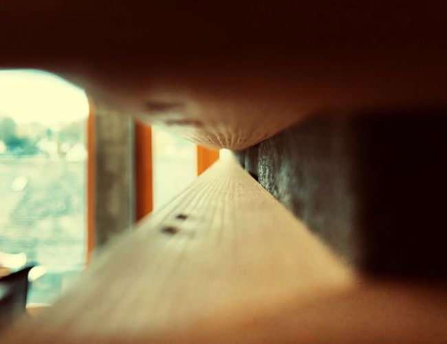 Between planks Tunnel Tunnel Vision Wall Furniture One Person Glass - Material Transparent Selective Focus Built Structure