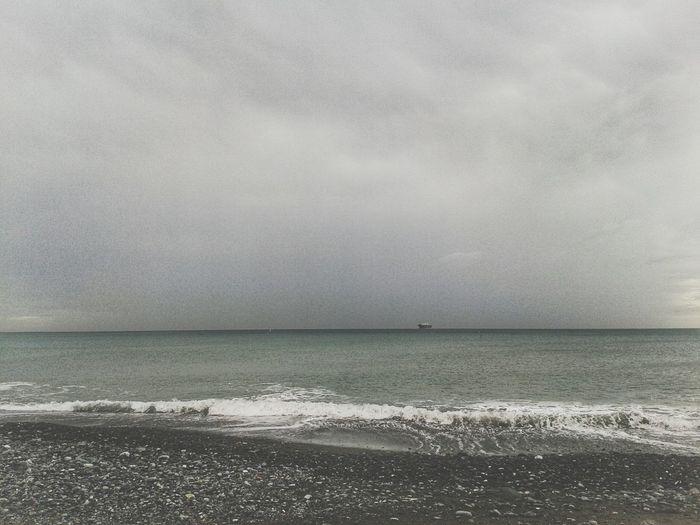 Peebles Ligurian Sea Autumn Melancholic Landscapes Mare Spiaggia Overcast Tristezza Mobilephotography Smartphone Photography S3 Mini Water Sea Beach Storm Cloud Sand Sky Horizon Over Water Cloud - Sky Dramatic Sky Rainy Season