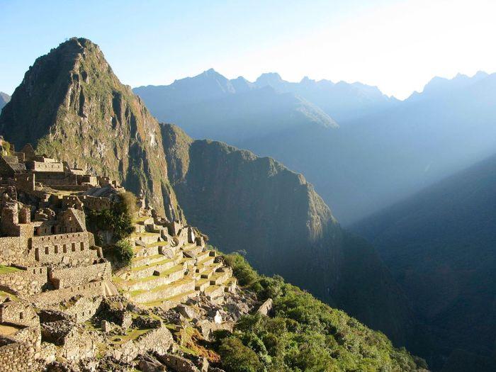 Sunrise at Machu Picchu DeLeonStrong Optoutside