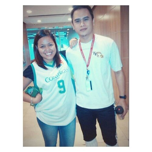 Sporty friday with Russel on his I-don't-what-the-sport-is. Nofilter Friendship EmployeeAppreciationDay Work JerseyNo.9