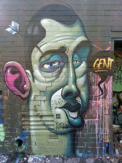 Graffiti Streetart Gent Forty8 Sdmcrew Gent48 Fiftyarrows