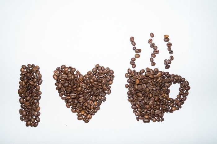 I love coffee Coffee Coffee Beans Coffee Bean I Love Coffee Coffee Art Flatlay Coffee - Drink Coffee ☕ Coffee Time Coffeelover Coffeelovers Coffeeaddict