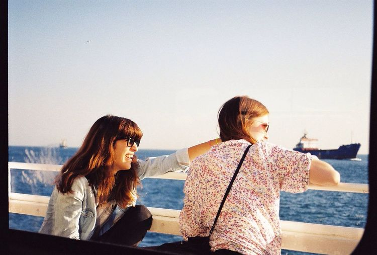 Girl Summer Summertime Sea