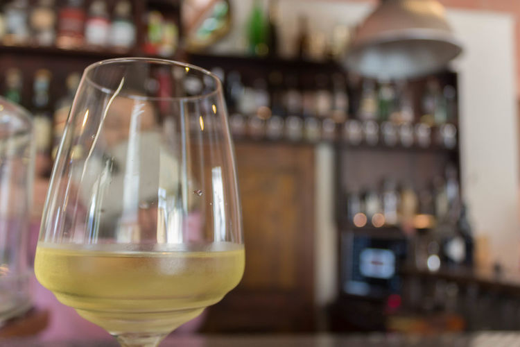Aperitivo Alcohol Apericena  Aperitivo  Bar - Drink Establishment Bar Counter Bottle Business Close-up Container Drink Drinking Glass Focus On Foreground Food And Drink Glass Glass - Material Household Equipment Indoors  No People Refreshment Restaurant Transparent Vino Wine Wineglass Winetasting