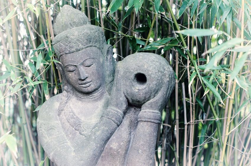 Statue Day No People Outdoors Sculpture Budhism Buddhism Culture Buddhas Singapore Indonesian Nature Wellness Meditation Garden Grass Freshness Fresh Reeds Reed Vase Water Food Drink Sidarth Religion The Great Outdoors - 2017 EyeEm Awards