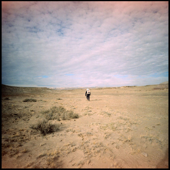 Astronauts on Mars Alone Analog Mission Analogue Photography Astronaut Shadow Astronauts  Clouds Over Astronauts Desert Heroes Lomography MDRS Mars Space Helmets Space Suits Space Travel Utah Adventure Interstellar Journey Medium Format Out There Outdoors Red Planet Velvia Xpro