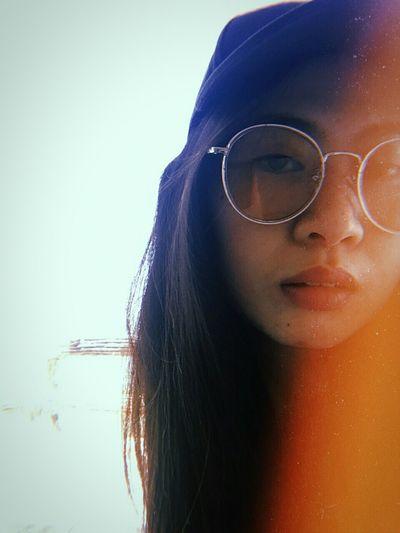""" SUNSHINE "" Young Women Women Beautiful Woman Beauty Eyeglasses  Headshot Portrait Human Face Close-up"